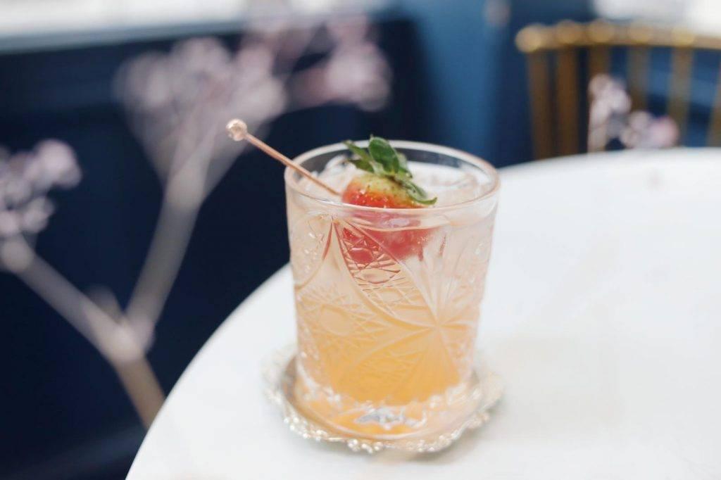 Strawberry Vinegar Spritz (圖片來源:)