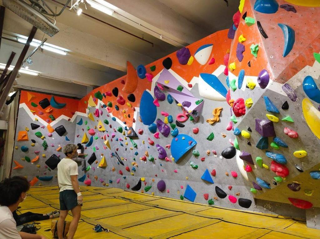 每幅牆都有多條路線可供攀爬。(圖片來源:FB@GONATURE)