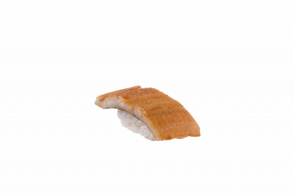 梳乎里海鰻鰻魚帶點點焦香,肥美。(圖片來源:)