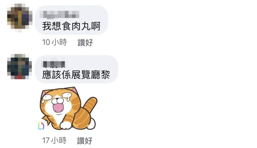 好想食肉丸呀!!!(圖片來源:Facebook群組「大埔 TAI PO」)