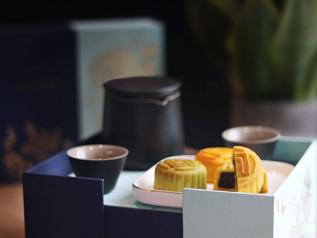 禮盒可變成精美小茶几(圖片來源:LIFETASTIC Patisserie)