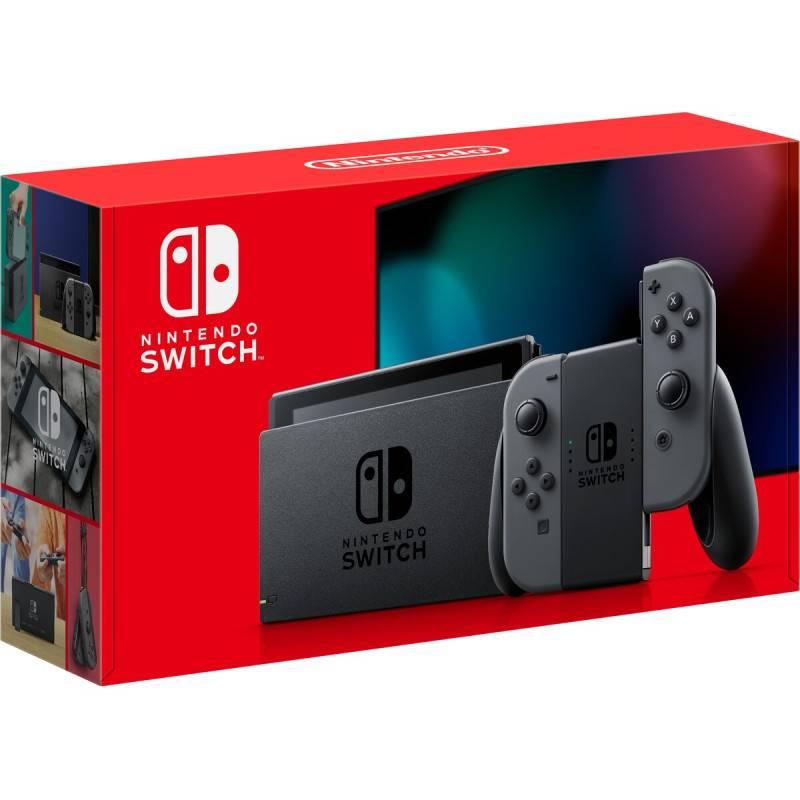 Nintendo Switch 電池持續時間加長版遊戲主機 (灰色) [6/8 限定]