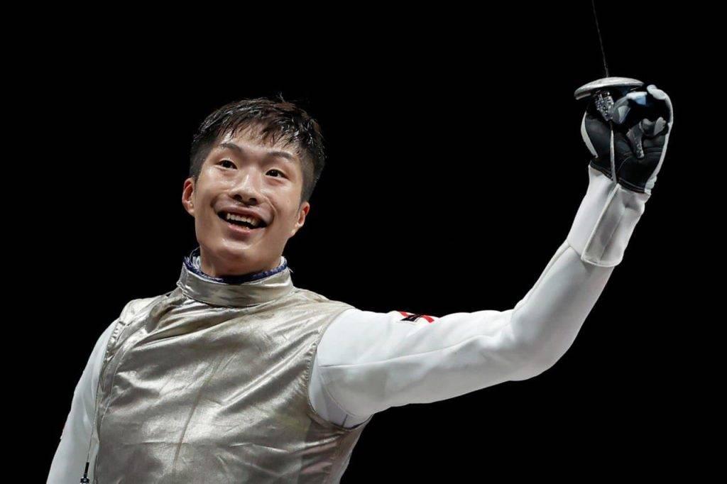 張家朗在今屆東京奧運被封為「劍神」(圖片來源:Oliver Weiken/ Getty Images )