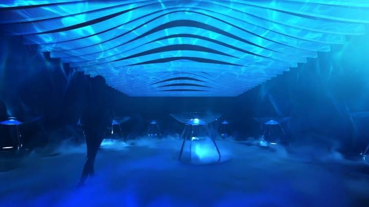 Pinkoi x XCEPT沉浸美學展覽《海濤浴 / Kaitouyoku by XCEPT》海洋光影展覽(圖片來源:Pinkoi)