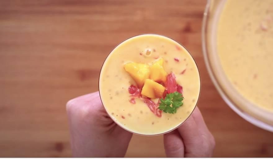 放上餘下柚子做裝飾,食得!(圖片來源:薩姐的南腔北調Lisa's Kitchen)