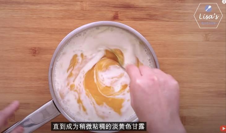 完全混合至淡黃色(圖片來源:薩姐的南腔北調Lisa's Kitchen)