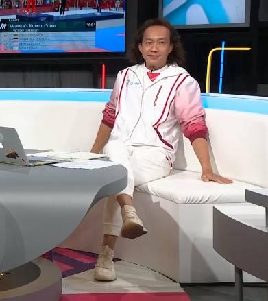 女子藍球賽,Keyman :「換人好簡單,一個出一個入」(圖片來源:ViuTV)