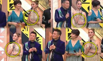 香港小姐2021決賽|主持陳凱琳一個動作被批欠得體 連評判朱玲玲都睇唔過眼?