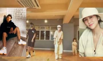 謝安琪帶仔女跟AK學舞 30秒影片跳MIRROR〈IGNITED〉囡囡Freestyle搶阿媽鏡