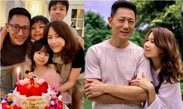 46歲鄺文珣慶幸與老公化解婚姻危機 為4歲孻女慶生 全家晒幸福