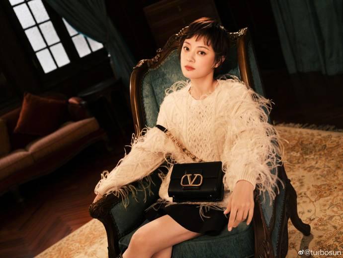 貴為中國電視劇女王的孫儷,主演的《後宮甄嬛傳》連HBO也要全球播放,收入打進排名榜第三名不出為奇。(圖片來源:Weibo@turbosun)