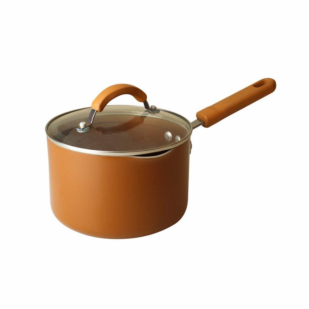 有蓋不黏單柄鍋2.8L(原價9)(圖片來源:官方圖片)
