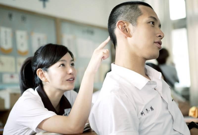 事主女友指在高中時間有交往過一名男友。(圖片來源:《那些年,我們一起追的女孩》劇照)