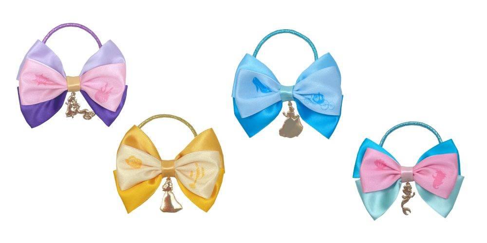 迪士尼公主蝴蝶結橡筋 (圖片來源:官方圖片)