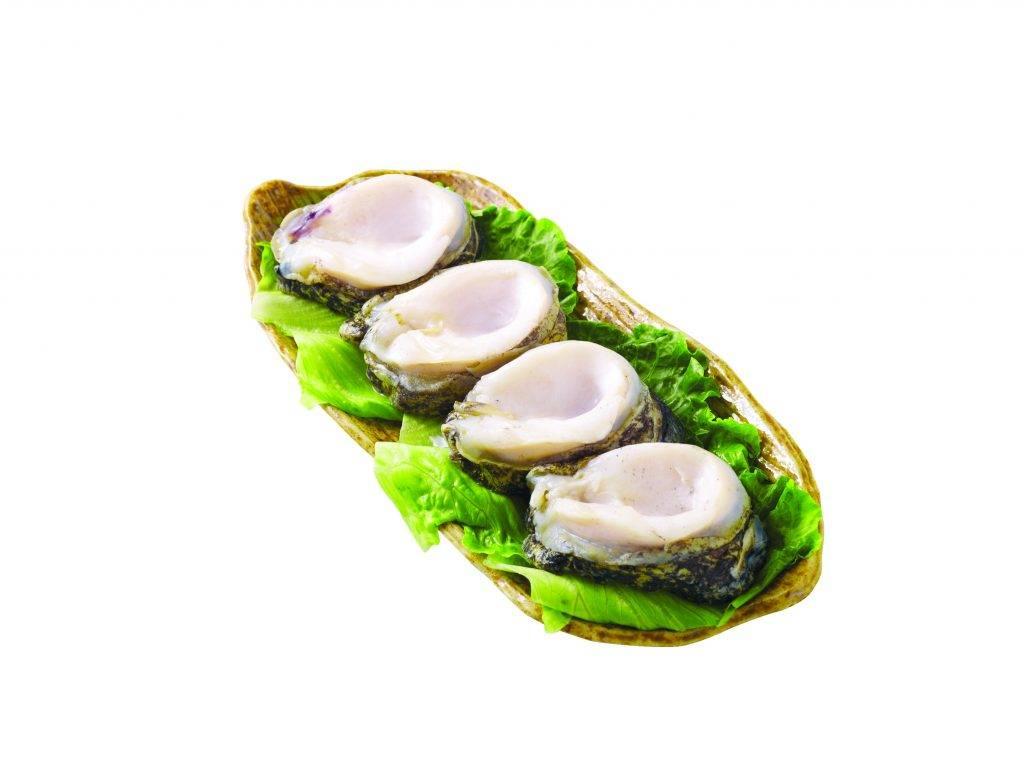 0任揀3件: 原隻有殼鮑魚(每包約200克) (原價.9)(圖片來源:AEON官方圖片)