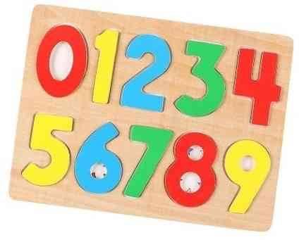 西松屋木質數字拼圖 原價:HK 特價1折:HK(圖片來源:Megabox)