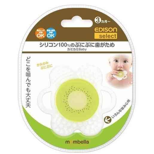 Edison嬰兒牙膠(奇異果) 原價:HK 特價1折:HK(圖片來源:Megabox)