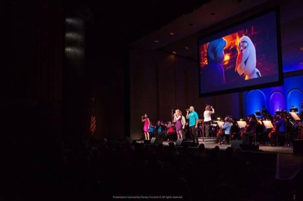 最受小朋友喜愛的《魔雪奇緣》表演,以美妙歌聲還原冰雪世界!(圖片來源:Disney Concerts)