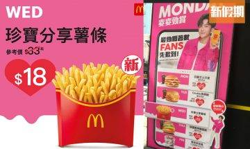 麥當勞一日限定$18珍寶薯條、$10蛋糕麥旋風!理想VS現實 記者實測伏唔伏!|網絡熱話