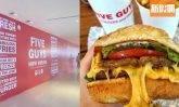 Five Guys旺角開第7間分店!美國最受歡迎漢堡包店 必食熱溶爆芝牛肉漢堡+即炸脆卜卜薯條|區區搵食