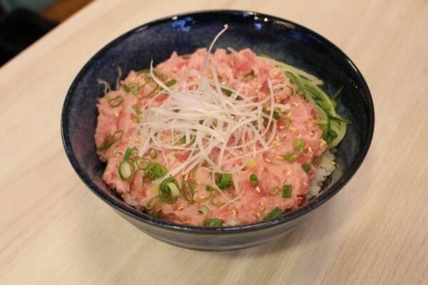吞拿魚蓉飯( 5pm前)-(5pm後)口感細膩甘香,淡淡鮮味。(圖片來源:千之味刺身壽司專門店)