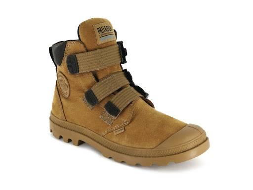 Palladium 啡色高筒 Boots 9(圖片來源:官方圖片)