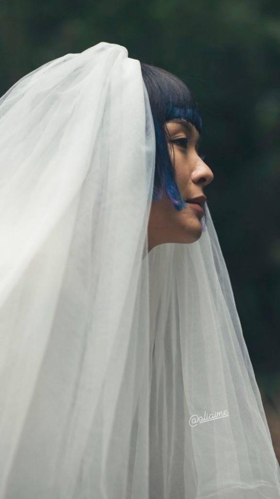 攝影師朱錦滿鏡頭下的李佳芯婚妙照。(圖片來源:Frankie chu)