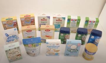 消委會測嬰幼兒穀類食品|8成含重金屬、一款有機米糊檢出砒霜|食是食非