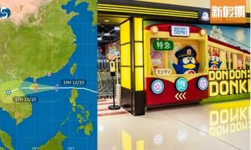 颱風圓規 |八號風球百佳、惠康、一田及各大百貨公司颱風營業時間安排一覽