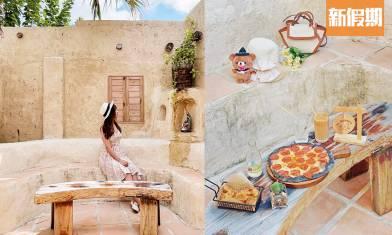 錦田新開摩洛哥風Cafe! 土耳其洞穴打卡位+沙漠感異國風情+寵物友善|區區搵食(新假期APP限定)