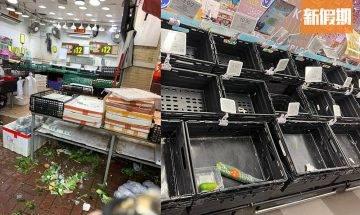 颱風圓規襲港 香港超市現搶購潮?!蔬菜水果被搶購一空 網民:點呀又要搶 玩生存遊戲呀?|玩樂熱話