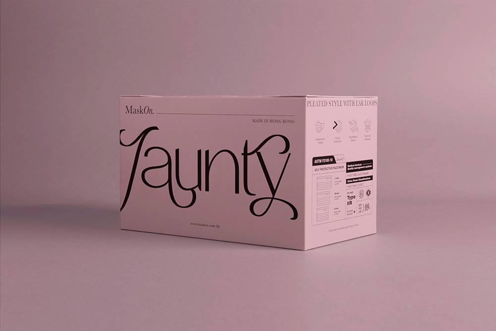 適逢10月是「國際乳癌關注月」,MaskOn更聯乘香港癌症基金會「Pink Revolution」推出全新的初曉粉紅「Jaunty」色調口罩。(圖片來源:官方圖片)