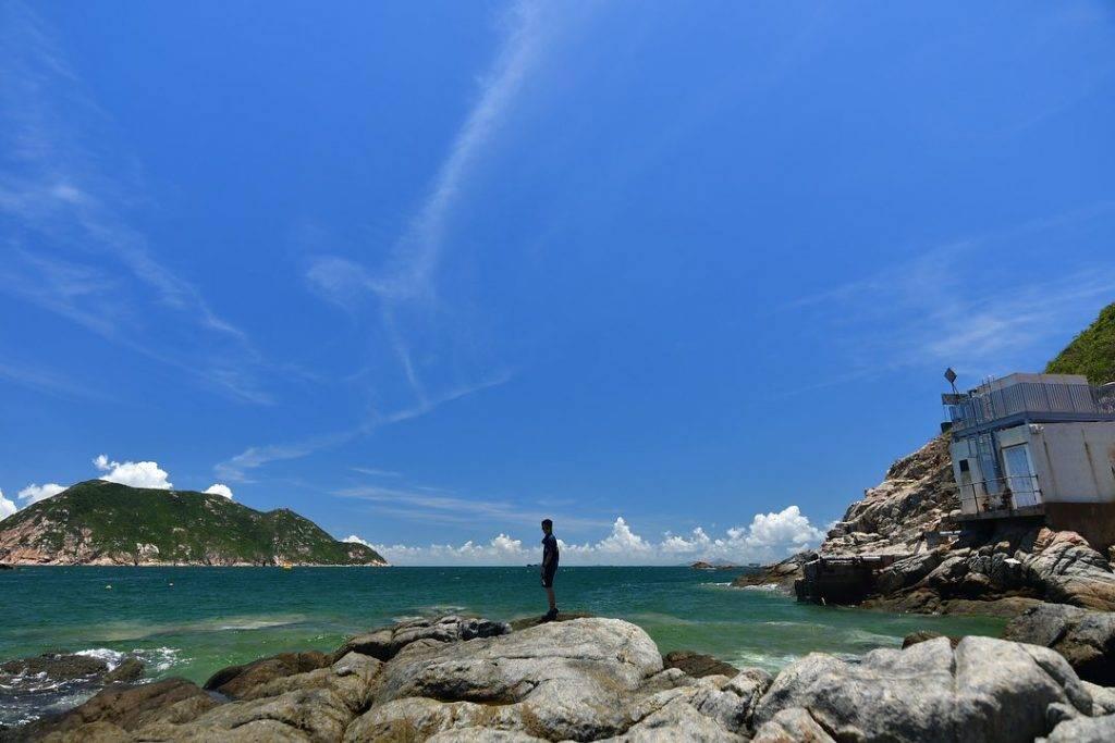 海天一色,非常漂亮。(圖片來源:IG@travel_de_world_)